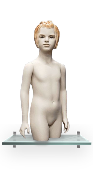 JK-6B-2H/HH/6-year girl torso